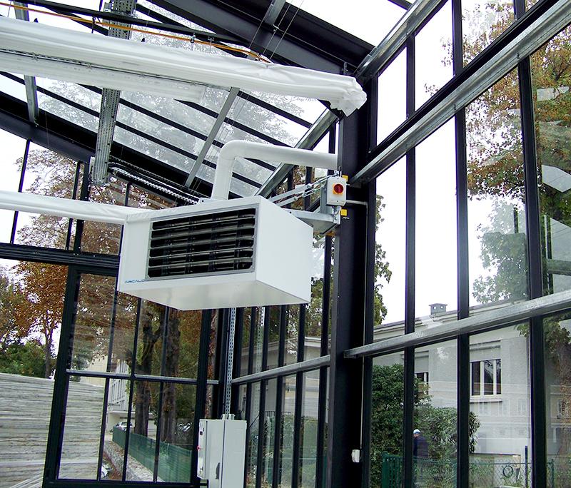 Воздухонагреватель КЭВ-35THG